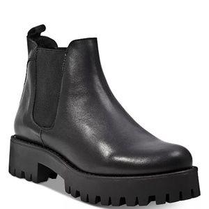 Steve Madden Bleeker Leather Ankle Boot Size 6